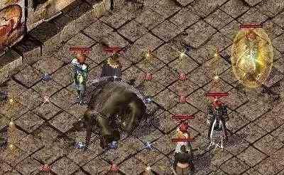 地下宫殿传奇广告的激情夺宝熊熊战火照亮玛法 传奇广告 第4张